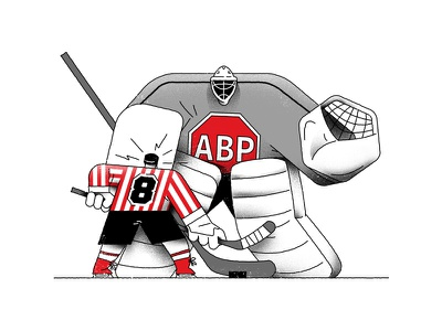 ABP Hokey match drawing icehockey hokey design flat vector illustration