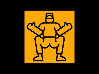 Lockdown Doodle Two workout squats exercise minimal illustrator vector illustration sketch doodle art