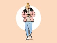 Street Style Tintin
