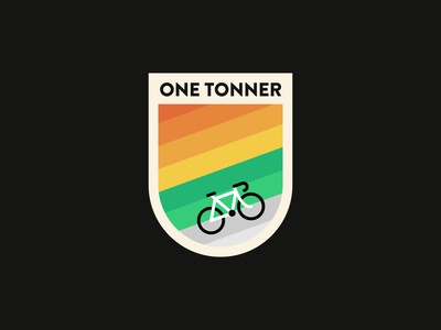 One Tonner Cycle Tour Badge