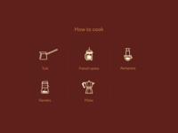 UI elements for website v2.0