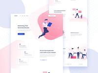 Scalo Marketing Landing page