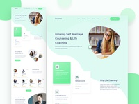 Courseso Counseling & Life Coaching Landing Page