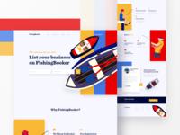 FishingBooker Landing Page