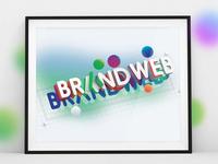 3D illustration for BRANDWEB