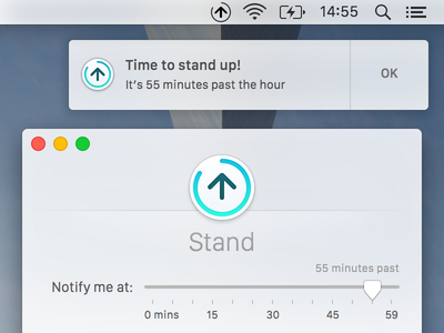 Stand for Mac el capitan osx notification apple watch stand app mac