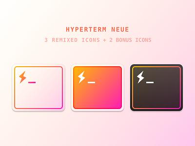 HyperTerm Neue hyperterm terminal replacement freebie mac icon