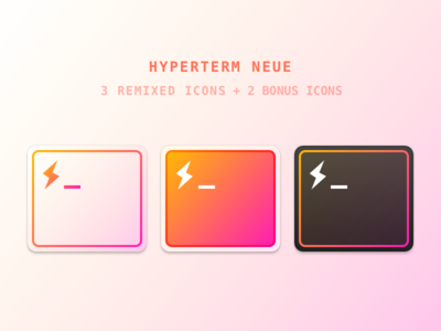 HyperTerm Neue hyperterm terminal replacement freebie mac icon