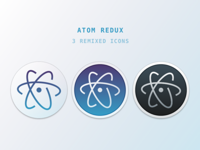 Atom Redux atom editor replacement freebie mac icon