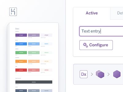 Purple3 UI Kit ui kit libraries styleguide sketch heroku purple
