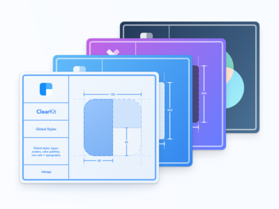 ClearKit design systems library sketch