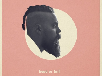head ot tail ? coin viking collage art profile photoshop graphic design collage