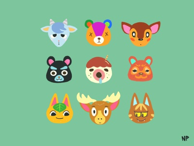 Favorite villagers cute animal crossing new horizon illustration procreate illustration procreate switch nintendo animal crossing acnh