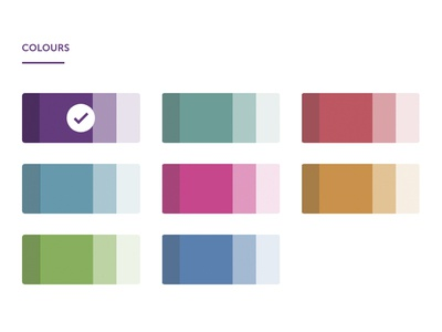 Reynolds Colours code design web application colour
