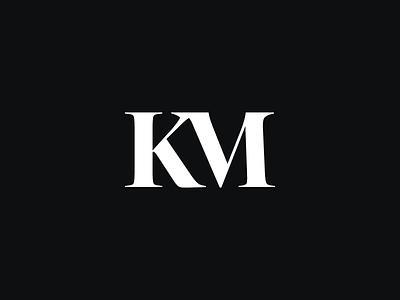 New Personal Logo! branding designer brand identity designer brand identity design km logo brand designer freelance designer monogram logo branding logo mark lettermark monogram logo designer logo design logo