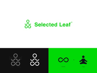 Selected Leaf - logo design logo designer cbd packaging cbd logo cbd oil cbdoil cbd cannabis packaging cannabis branding cannabis design cannabis logo cannabis yoga logo logo grid logo animation packaging design identity branding brand identity design brand refresh logo design