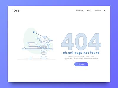 404 Page logojoy logo 404 error 404page 404 daily ui 008 daily ui daily challenge daily 100 ui challenge ux challenge ux designer ui designer ui design ux design ux  ui ui  ux design ui  ux ux ui