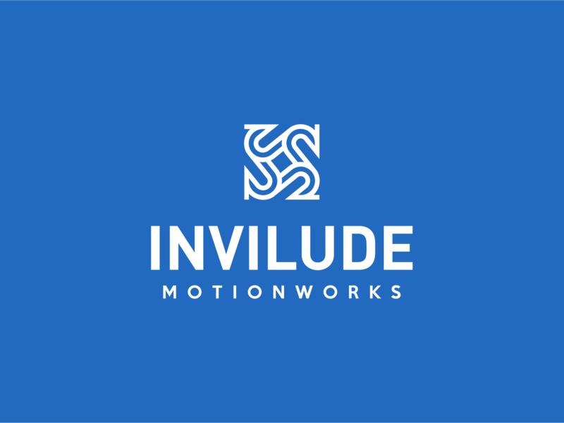 Invilude Logo motion works logo mark design logo mark logo design blue logo invilude morion logo motion logojoy logo