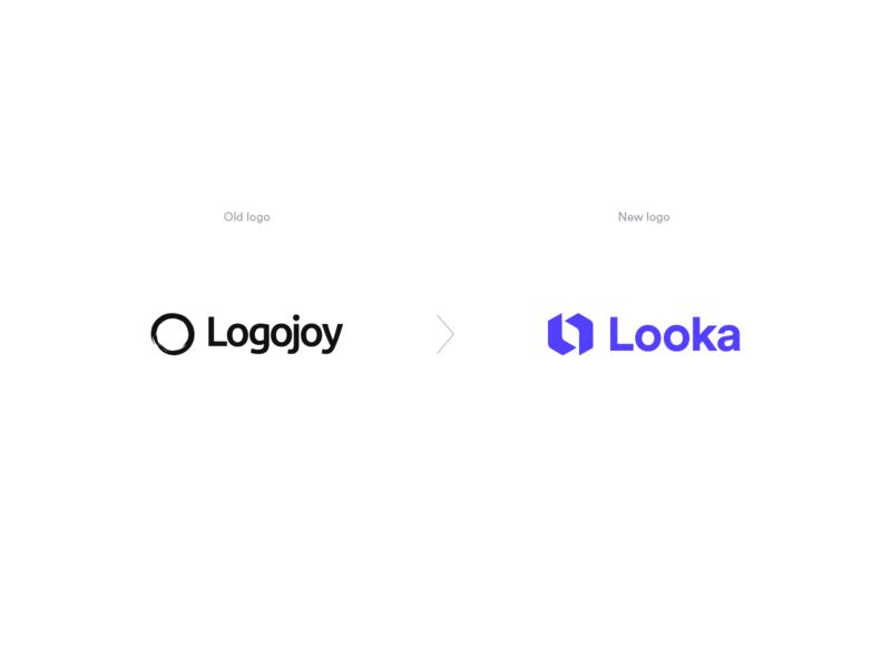 Logojoy to Looka Rebrand