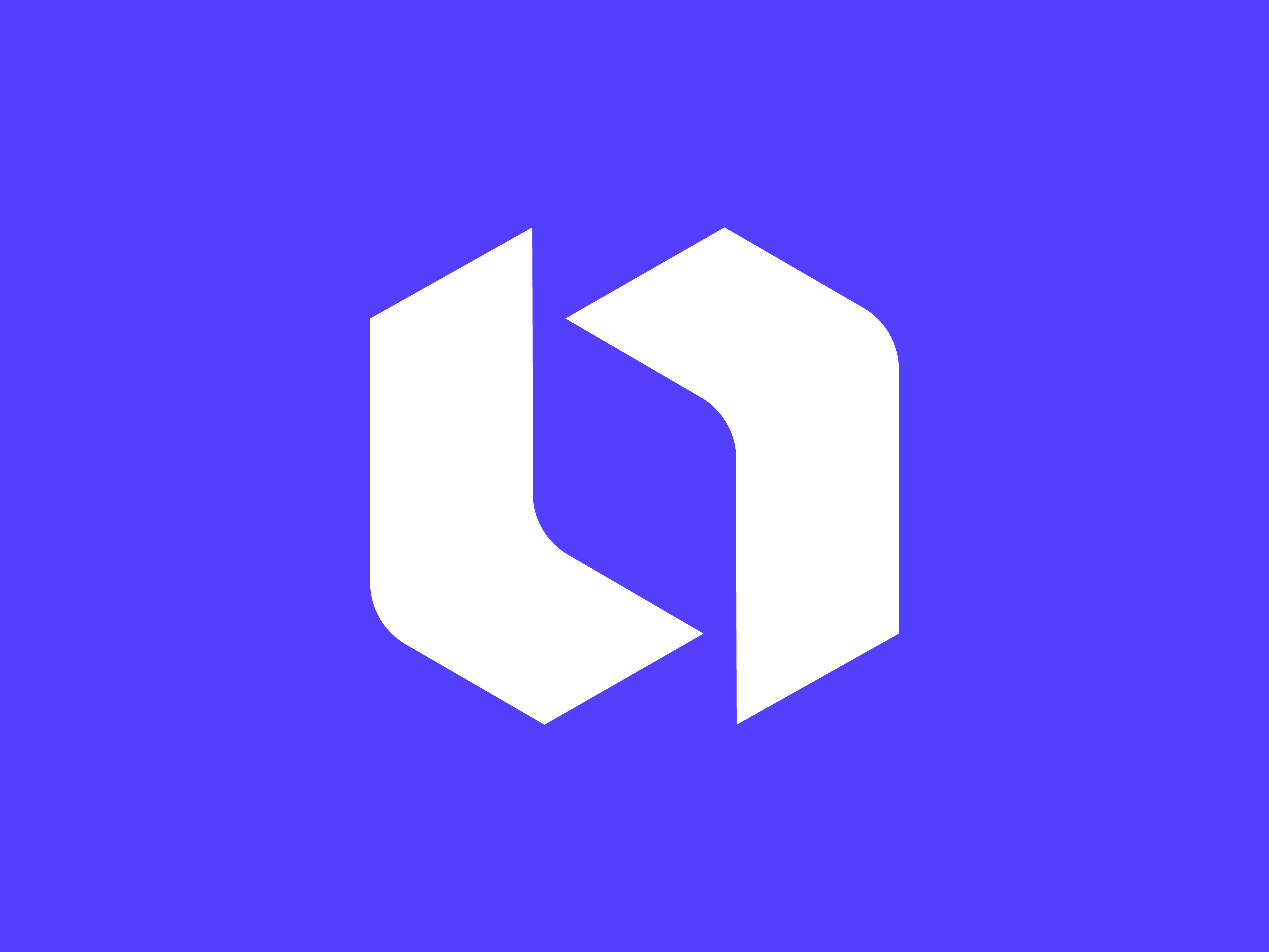 Symbol blue bg