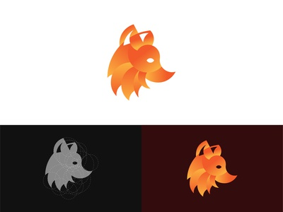Golden Ratio Fox Symbol