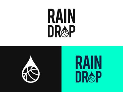 Rain Drop Logo Design