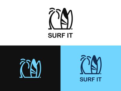 Surf It Logo Design