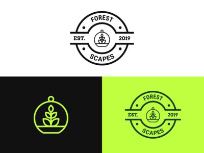 Forest Scapes Logo Design