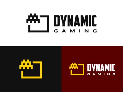 Dynamic Gaming Logo Design