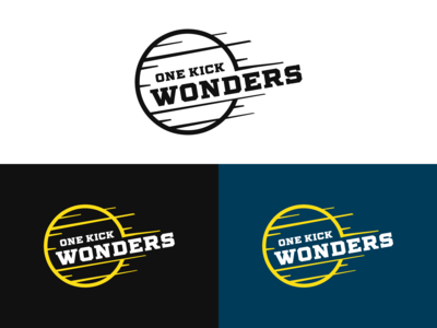 One Kick Wonders Logo Design