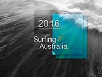Surfing Australia - Poster Design