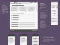 Lo-Fi Wireframe - Enterprise LMS Learner Home Page