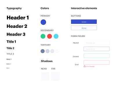 Designlab Course: Create a design system for your landing page design system designlab visual design