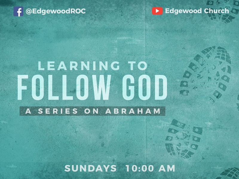 Learning To Follow God- Sermon Graphic