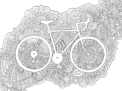 Drawing Meditation Coloring Book Pages by Kaitlyn Parker Dribbble