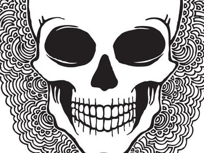 Skull Drawing Meditation