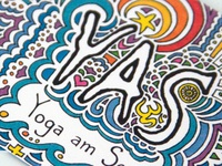 Yoga am See (YAS) Business Card