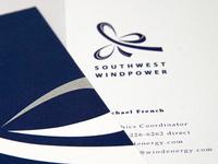 Southwest Windpower - Business Card