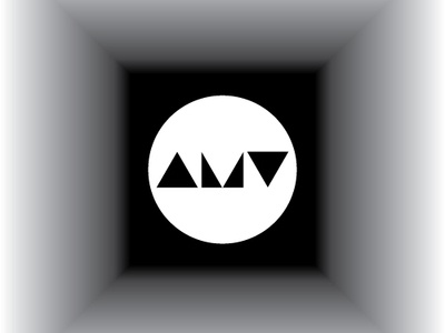 AMV Opticals 001 02 logo branding vector design logotype lettering typography