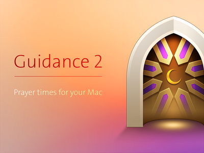Guidance 2 pray islam mac icon desktop