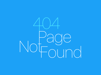 404 Page Not Found web