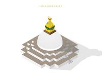 Isometric Swayambhu