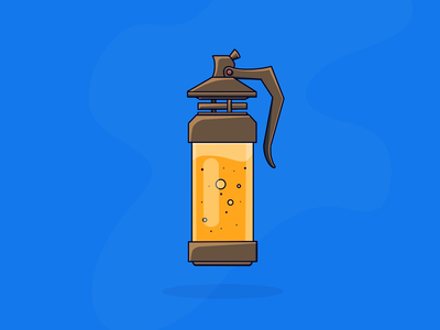 Stink bomb from Fortnite gaming logo icon design illustration