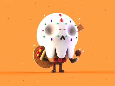 VDInk 13/31 mexico inspiration creative cute mrolds design illustration 3d characters character design vdink
