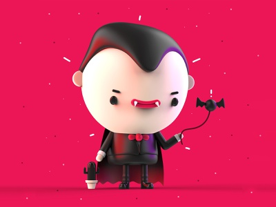 VDInk 14/31 vdink character design characters 3d illustration design mrolds cute creative inspiration mexico
