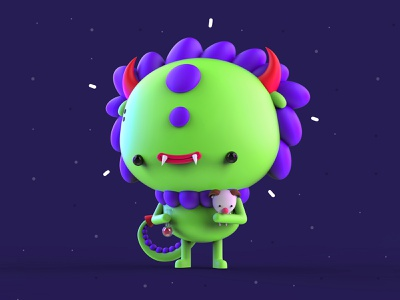 VDInk 21/31 vdink character design characters 3d illustration design mrolds cute creative inspiration mexico