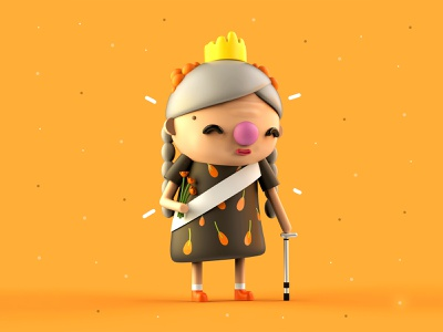 VDInk 23/31 vdink character design characters 3d illustration design mrolds cute creative inspiration mexico