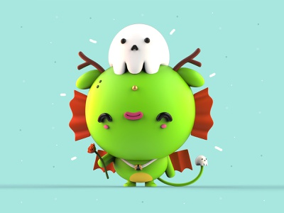 VDInk 29/31 character design characters inspiration mexico 3d illustration design mrolds cute creative vdink