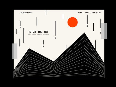 Daily UI #14 - Countdown Timer figma countdown timer countdowntimer countdown dailyui014 dailyui ui ux web deisgn website abstract pattern daily 100 challenge modern daily ui challenge