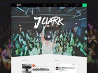 J.Clark Landing page